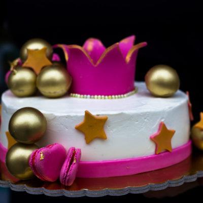 Dětský narozeninový dort  Princezna 2