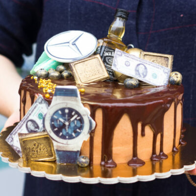 Narozeninový dort pro muže Business 2