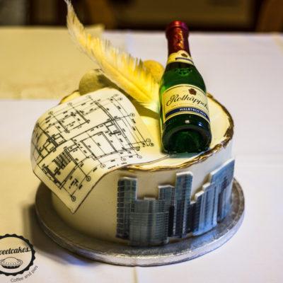 Narozeninový dort pro muže Projekt