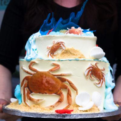 Firemní dort Krab