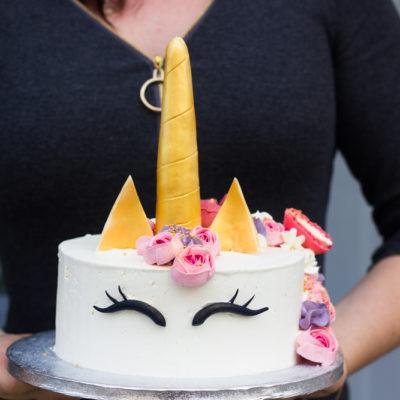Dětský dort na objednávku Jednorožec 11