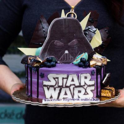 Narozeninový dort Star Wars