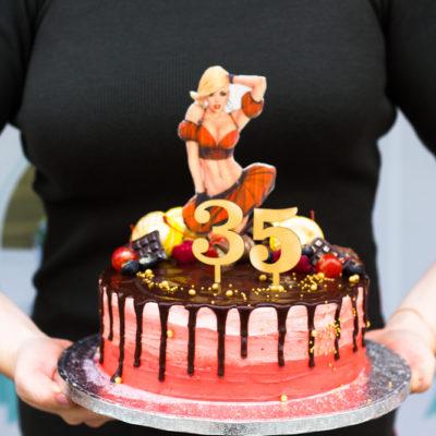 Narozeninový dort pro muže Tanec