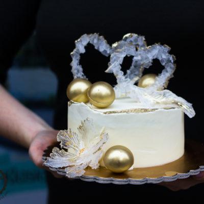 Svatební dort Srdce