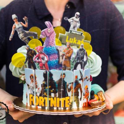 Dětský dort na narozeniny Fortnite 6