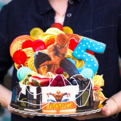 Dětský dort na narozeniny Spiderman 3