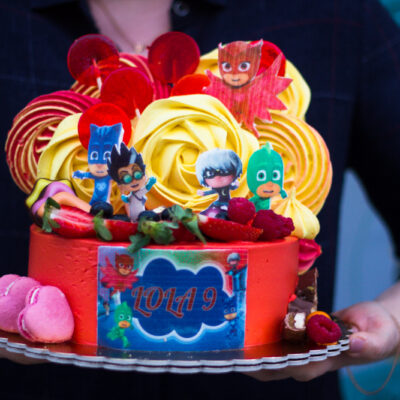 Dětský narozeninový dort Pyžamasky