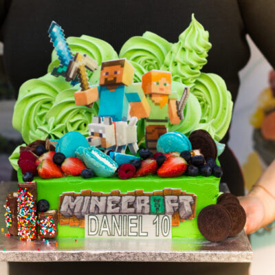 Dětský narozeninový dort  Minecraft 5
