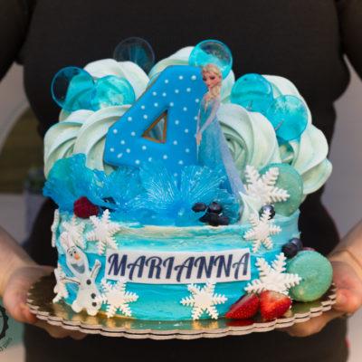 Dětský dort na objednávku Frozen 8