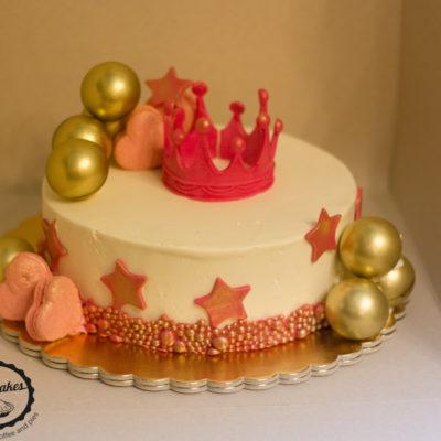 Dětský dort na objednávku Princezna 4
