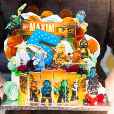 Dětský narozeninový dort  Ninjago 3