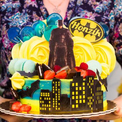Dětský dort na narozeniny Batman 3