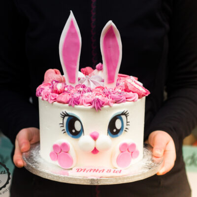 Dětský narozeninový dort Zajíček 2 (2,5 kg 1700 kč)