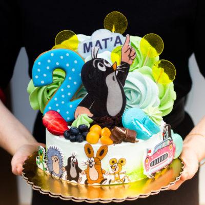Dětský narozeninový dort Krteček 4