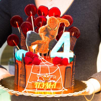 Dětský dort na objednávku Spiderman 2