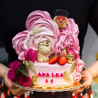 Dětský dort na narozeniny Jednorožec 10