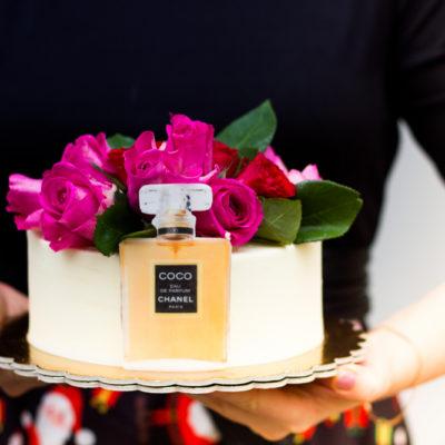 Narozeninový dort pro holku Chanel 2