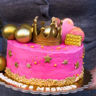 Dětský narozeninový dort  Princezna 3