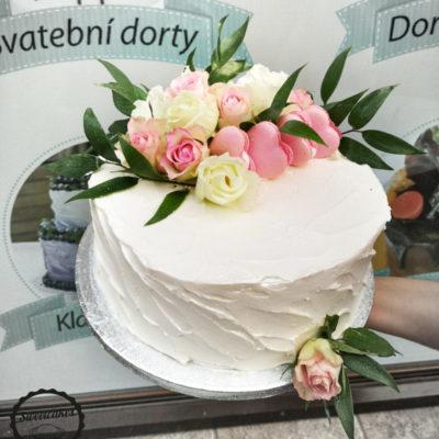 Svatební dort Sladkost 2 (2 kg, 1450 kč)