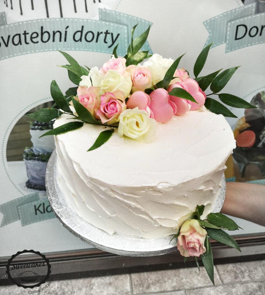 Svatební dort Sladkost 2