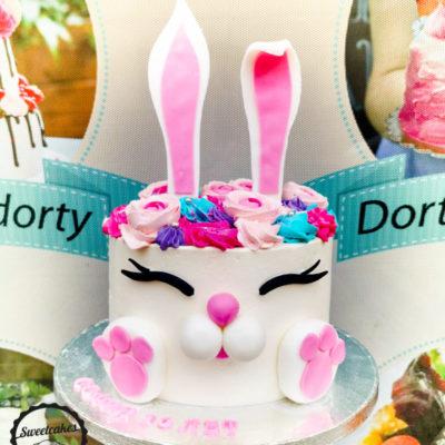 Dětský narozeninový dort Zajíček 7