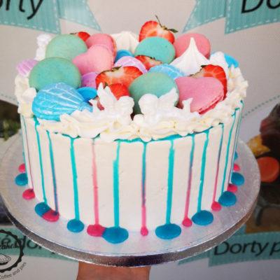 Dětský narozeninový dort Baby Reveal (2,5 kg, 1700 kč)