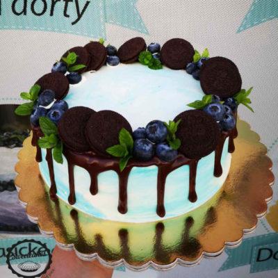Narozeninový dort Oreo
