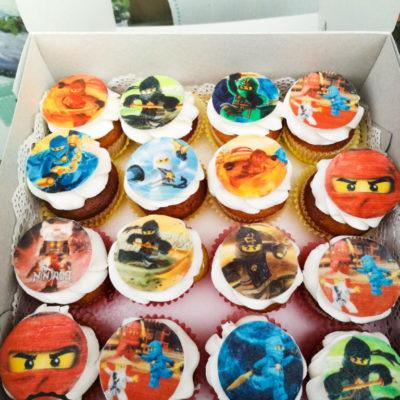 Cupcake Ninjago 55 kč/kus