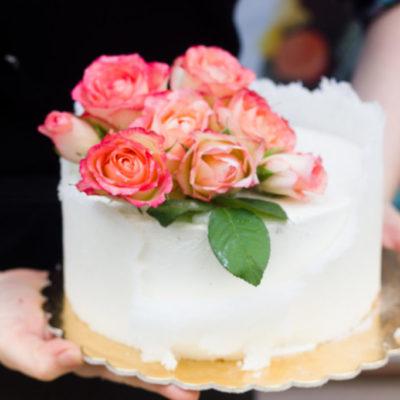 Svatební dort Sladkost