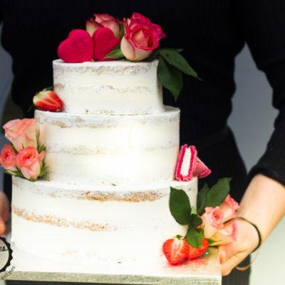 Svatební dort Kytice 2