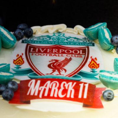Narozeninový dort Liverpool (2 kg, 1450 kč)