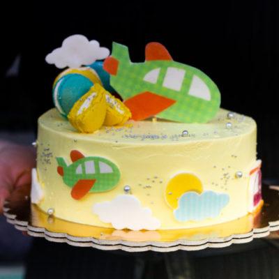 Dětský narozeninový dort Oliver (2 kg, 1450 kč)