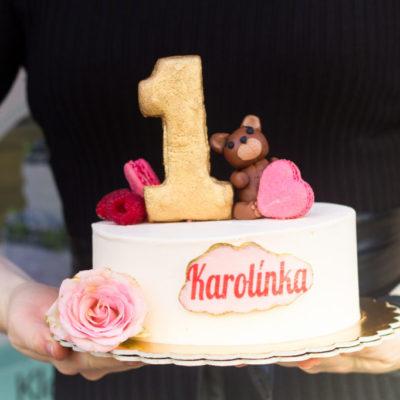 Dětský narozeninový dort Medvídek 3 (2 kg, 1450 kč)