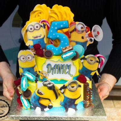 Dětský narozeninový dort Mimoni 2