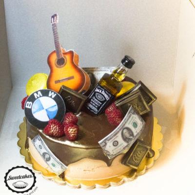 Narozeninový dort pro muže BMW 2