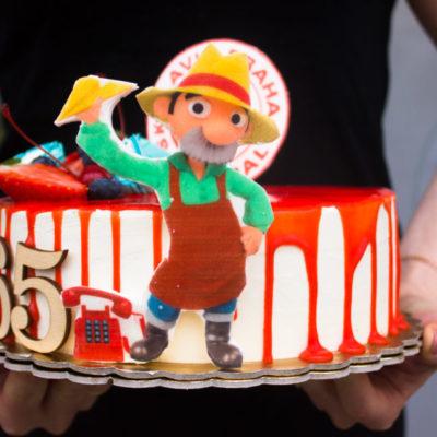 Narozeninový dort pro muže Béda Trávníček