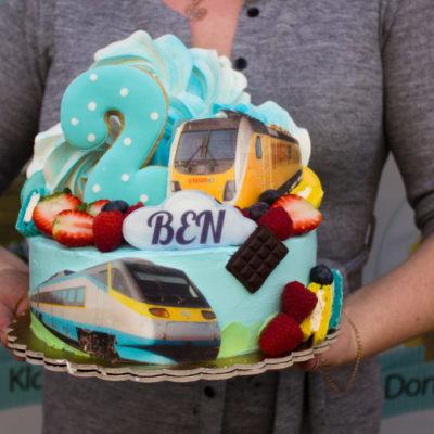 Dětský narozeninový dort Regio Jet