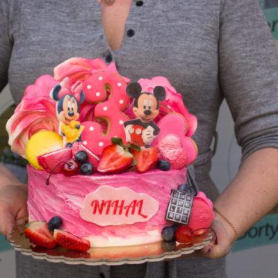 Dětský narozeninový dort Mickey Mouse 6 (2 kg, 1450 kč)