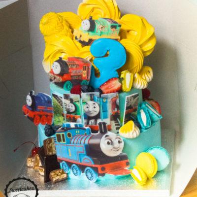 Dětský narozeninový dort Tomáš 3