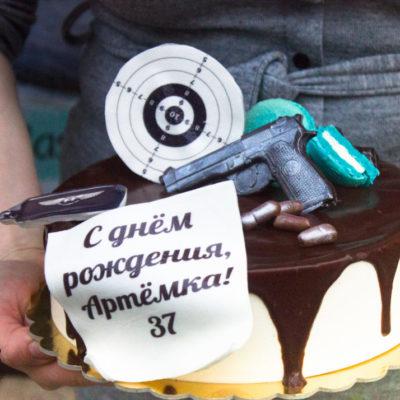 Narozeninový dort pro muže Terč 2