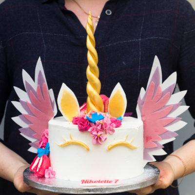 Dětský dort na narozeniny Jednorožec 15