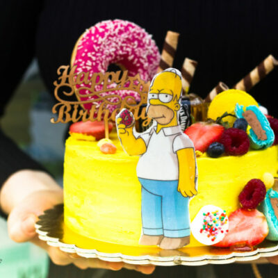 Narozeninový dort pro muže Simpsons 2