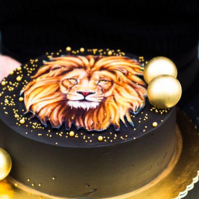 Narozeninový dort pro muže Lev 2