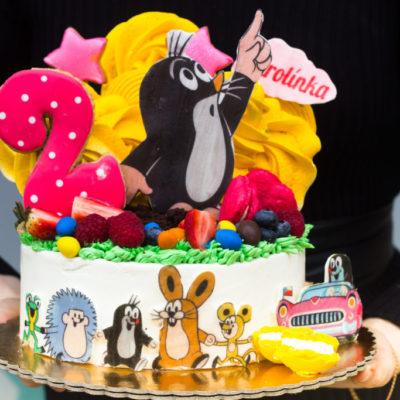 Dětský narozeninový dort Krteček 5