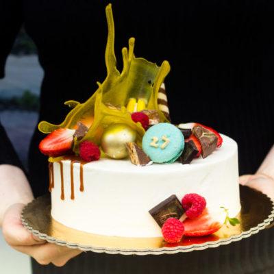Narozeninový dort Váza 2