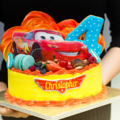 Dětský narozeninový dort pro kluka Autíčka 6