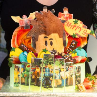 Dětský narozeninový dort Roblox 5