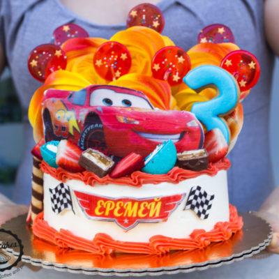 Dětský narozeninový dort Autíčka 5