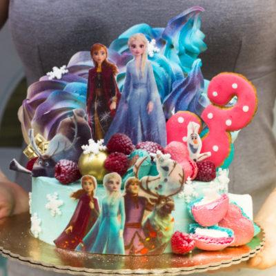 Dětský narozeninový dort Frozen 12