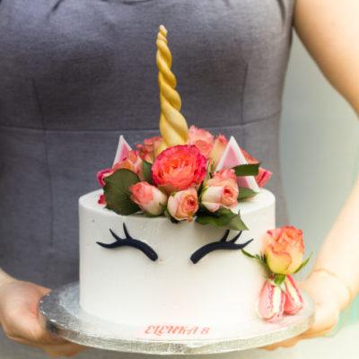Dětský narozeninový dort  Jednorožec 13